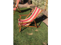 Vintage Deck Chairs for sale