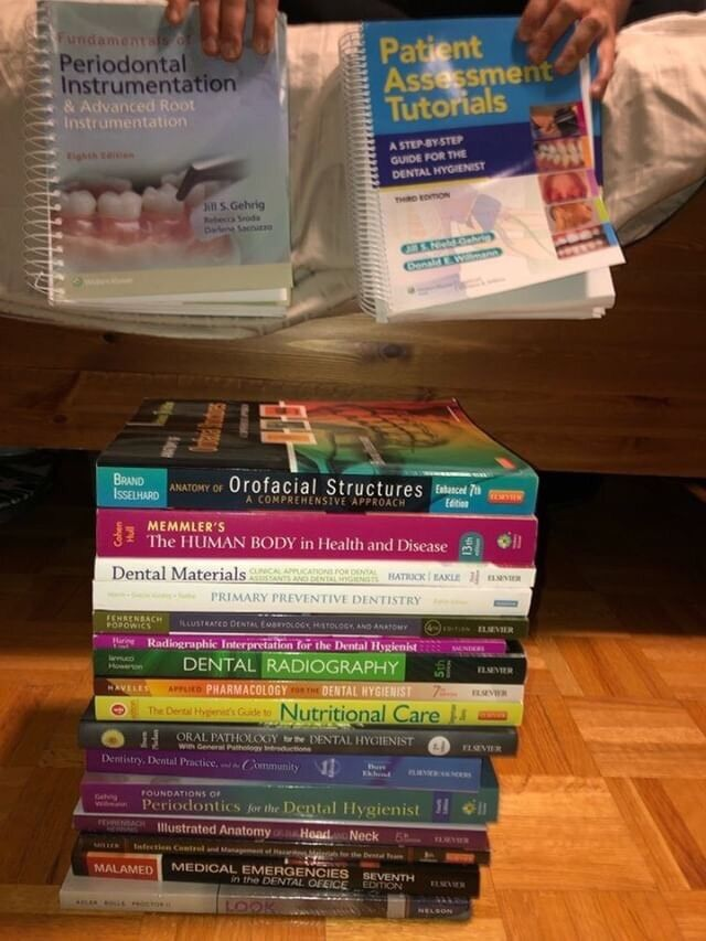 Dental Hygiene Text Books 1010 Condition Textbooks City Of