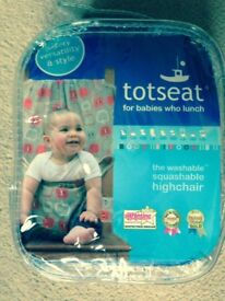 New TotSeat unused