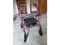 Adult wheeled walker/seat Very good condition