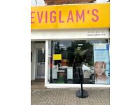 Complimentrary Service at EVI GLAMS, please call to book