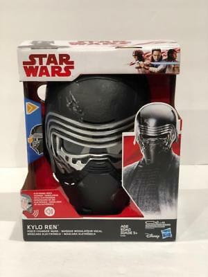 KYLO REN Voice Changing Talking Helmet Mask Star Wars  - Voice Changing