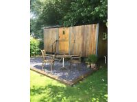 Shepherd hut £4995 DELIVERY AVAILABLE