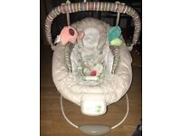 Comfort and harmony baby bouncer rarely used at grandparents so in excellent condition, £26 ono