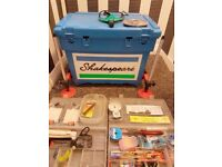 Shakespeare Tackle Box and Octoplus legs