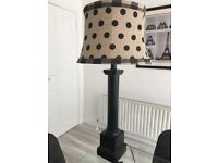 Black and cream lamp for sale