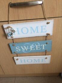 home sweet home wall mountable plague