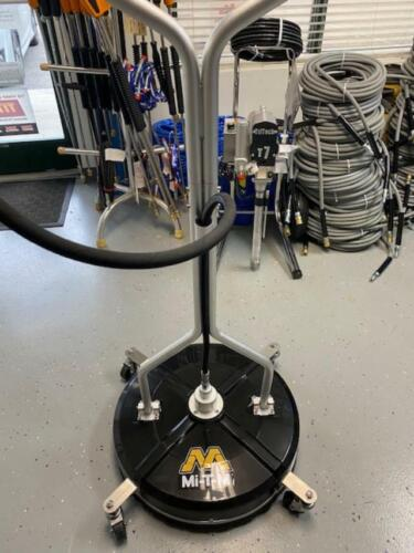 MI-T-M Rotary Surface Cleaner - 20-Inch AW-7020-8010 with Caster Wheels