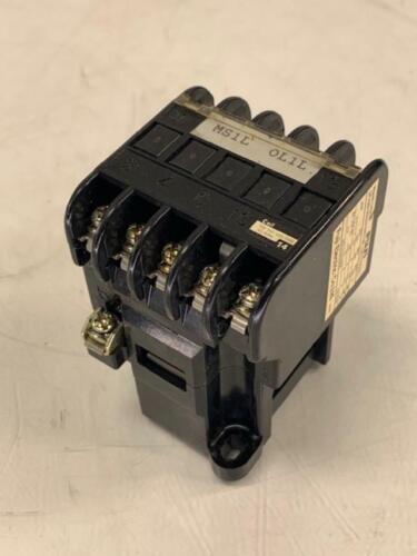 Fuji Electric Magnetic Contactor, SRCa3631-05Z324A (4a1b), 110V Coil, Warranty