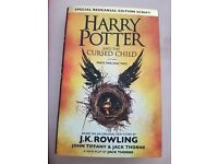 HARRY POTTER & THE CURSED CHILD HARDBACK BOOK