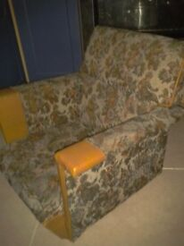 1960s Child's armchair, Good condition mini chair