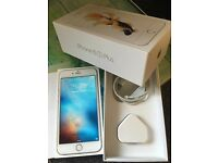 Apple iPhone 6S plus 64gb gold UNLOCKED under WARRANTY