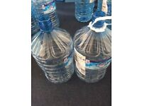 FREE 15L plastic heavy duty empty water containers FREE