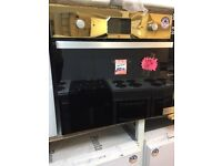 BAUMATIC SINGLE INTEGRATED BLACK ELECTRIC OVEN-NEW FAB