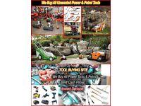 Wanted All Power Tools Like Hilti, Makita, Bosh, Milwaukee, Festool etc