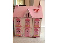 ELC Dolls House w/ furniture for every room