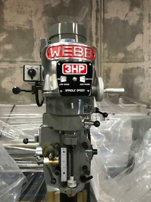Webb Heavy Duty Milling Machine Heads New