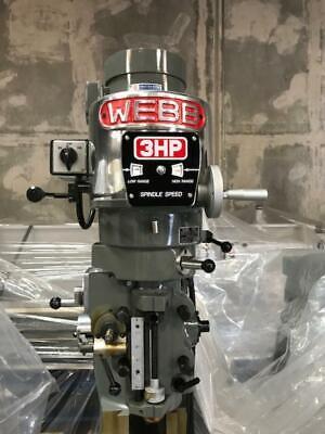 Webb Heavy Duty Milling Machine Heads New