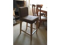 Upholstered stool/chair n lovely condition