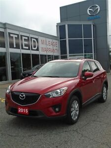 2015 Mazda CX-5 **UNLIMITED KM WARRANTY** AWD GS