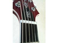 PRS SE Mike Mushok baritone guitar (cherry)