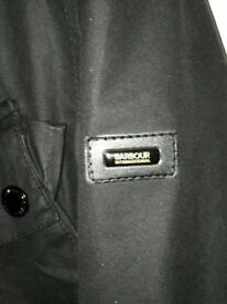 Barbour International Dovenby Men's Black Small Wax Jacket : Cost £250-with original tags/packaging