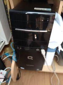 Compaq PC with Monitor