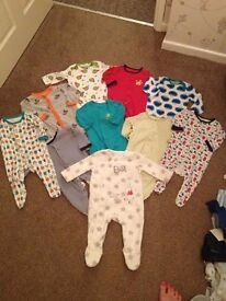 Bundle of baby boys clothes (3-6 months)