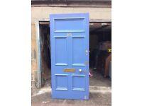 Solid wood Victorian front door