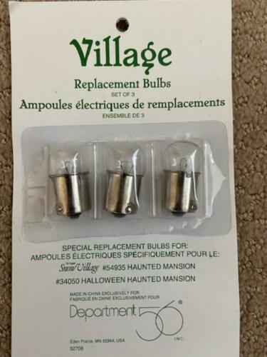Department 56 Replacement Clear Bulbs for Haunted Mansion #52708/52707