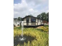 STUNNING 2015 MODEL LUXURY LODGE FOR SALE, LANCASHIRE ***FREE SITE FEES UNTIL 2019***