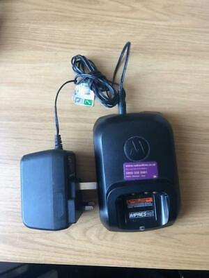 Motorola IMPRES Single Unit Charger with Power Supply- WPLN4226A - Used
