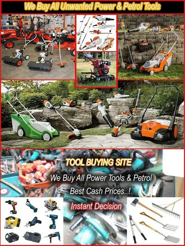 Wanted Used Power Tools Only Quality Names Like Hilti, Milwaukee, Bosh Etc