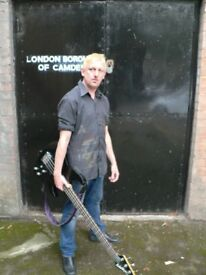 Very experienced bass player for professional band