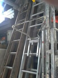 Class 1 Industrial Double Extension ladders, £30-£70