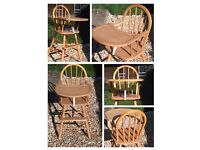 Classic Wooden Highchair