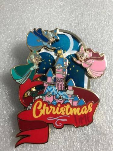 Christmas time pin event SLEEPING BEAUTY  fairies flora fauna LE 425 PIN