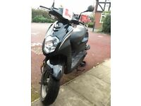 Black Moped regular serviced and low mileage