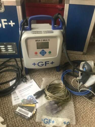 +GF+ Georg Fischer MSA 2 Multi Automatic Electrofusion Unit W/ SeaDrain cables