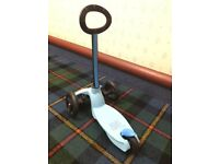 New mini micro scooter candy blue £50