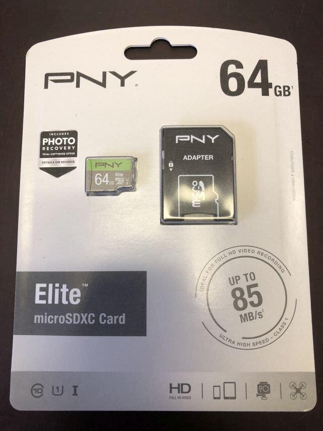 Elite 64 GB microSDXC