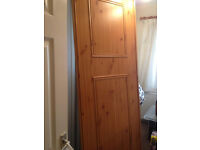Full set of Wooden sliding wardrobe doors (4)