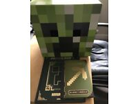 Minecraft Xbox One game plus Creeper Box Head and 2x Annuals: all Excellent Condition: £18 ono