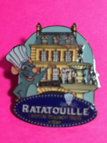 DISNEY Ratatouille Totally Zany Adventure of Remi Attraction Disney Paris pin