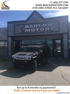 2006 HUMMER H2 LEATHER|2 SETS OF WHEELS|LOCAL VEHICLE|NO ACCIDEN