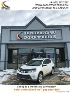 2014 Toyota RAV4 Limited CLEAN CARFAX LEATHER NAVIGATION PUSH ST