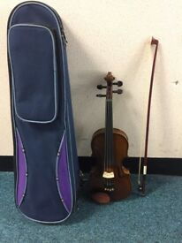 Stentor M140373 1/4 Violin With Bow & Case
