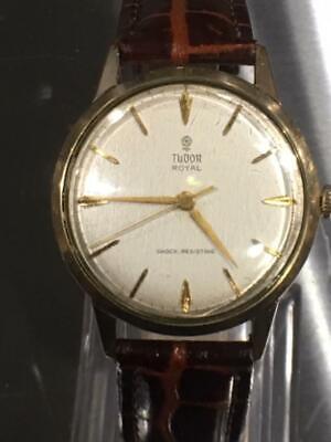 Tudor Royal Vintage 9ct Gold Circa 1960 Wristwatch