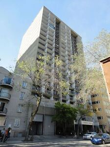 Spacious 1BR Downtown, highrise in great location