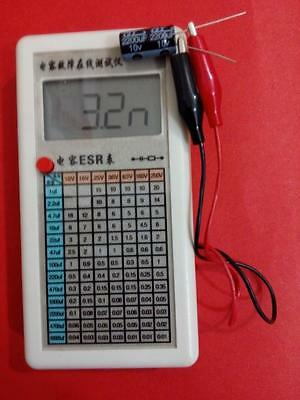 Lcd Digital Capacitor Esr Tester Internal Resistance Meter Test In Circuit